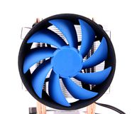 Free Blue Computer Fan For PC Case. Royalty Free Stock Photo - 31801535