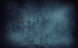 Blue concrete background. Closeup of blue textured background Royalty Free Stock Images
