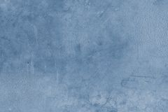 Blue concrete background. Closeup of blue textured background Royalty Free Stock Photo