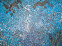 Blue concrete background texture Stock Photography