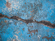 Blue concrete background texture Royalty Free Stock Photos