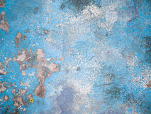 Blue concrete background texture Stock Image