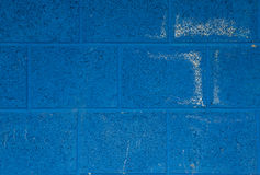 Blue concrete block background Royalty Free Stock Image