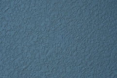 Blue concrete wall. Stock Image