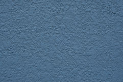 Blue concrete wall. Stock Photography