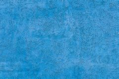 Blue Concrete Wall Background texture royalty free stock photo