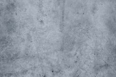 Blue concrete wall Stock Images