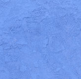Blue concrete wall with rough Stock Photo
