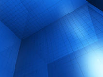 Blue Construction Background Stock Image