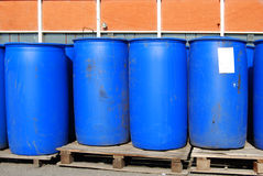 Blue container Stock Photos