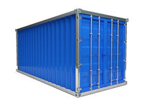 Blue Container Stock Image