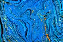 Blue contour background Stock Image