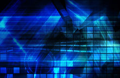 Blue Corporate Background Royalty Free Stock Image