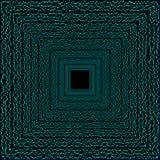 Blue corridor. Stock Images