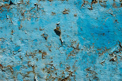 Blue corrosion Royalty Free Stock Images