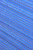 Blue corrugated cardboard Stock Photos
