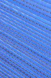 Blue corrugated cardboard Stock Photos