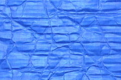 Blue corrugated cardboard Royalty Free Stock Photography
