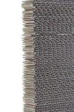 Blue corrugated cardboard Stock Image