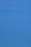 Blue corrugated color paper Royalty Free Stock Photo