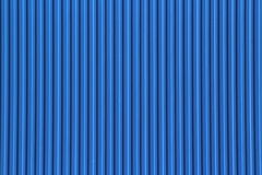 Blue Corrugated iron Background Royalty Free Stock Photos