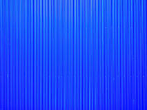 Blue corrugated metal Stock Image