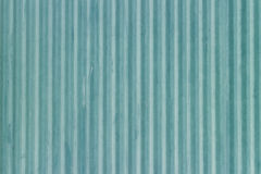 Blue corrugated metal sheet Stock Photos