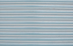 Blue corrugated painted metal background texture Royalty Free Stock Photography