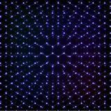 Blue cosmical molecular hexagonal grid abstract background. Blue cosmical molecular hexagonal grid vector abstract background Royalty Free Stock Photo