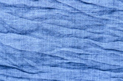 Blue cotton background Royalty Free Stock Photos