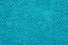 Blue Cotton Cloth Material Royalty Free Stock Image