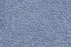 Blue Cotton Denim Fabric Texture Sample Royalty Free Stock Image