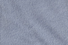 Blue Cotton Denim Fabric Texture Sample Stock Photography