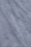 Blue Cotton Denim Fabric Crumpled Grunge Texture Royalty Free Stock Photos