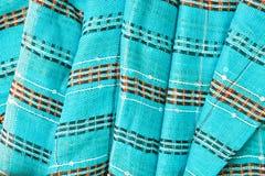 Blue cotton Stock Image