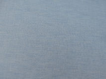 Blue cotton fabric texture Stock Photos