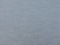 Blue cotton fabric texture Royalty Free Stock Images