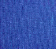Blue cotton texture Royalty Free Stock Images