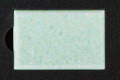 Blue counter top sample Stock Image