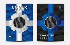 Blue cover template vector design, brochure flyer, annual report, mgazine ad, advertisement, book cover layout, poster, catalog,. Newspaper, creative idea vector illustration