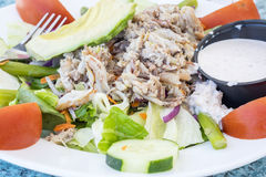 Blue Crab Salad Royalty Free Stock Photography