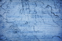 Blue crack Stock Images