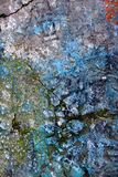 blue cracked texture Royalty Free Stock Photos