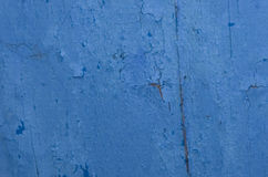 Blue cracked texture background Royalty Free Stock Photos