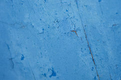 Blue cracked texture background Stock Image