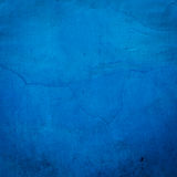 Blue cracked wall Stock Images