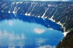 Blue Craker Lake Royalty Free Stock Image