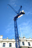 Blue crane tower in Royal Academy of Arts Royalty Free Stock Photography