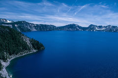 Blue crater lake