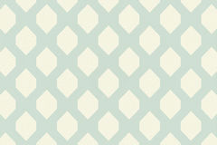 Blue And Cream Patterned Wallpaper Royalty Free Stock Photography